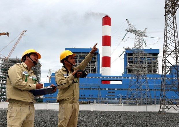 Vinh Tan 1 power plant's 2nd turbine to run ahead of schedule hinh anh 1
