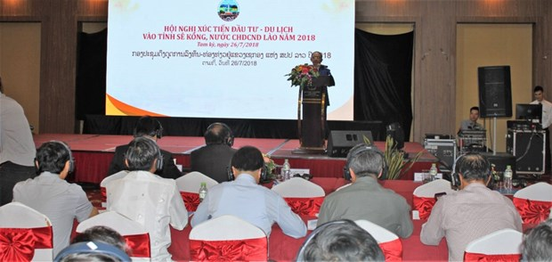 Conference promotes investment, tourism in Laos' Sekong province hinh anh 1