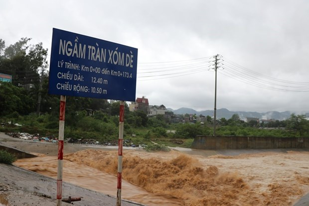 Storm Son Tinh causes damage worth 270 billion VND to road systems hinh anh 1