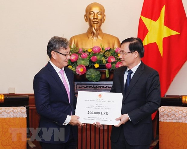 Vietnam offers aid to victims of dam collapse in Laos hinh anh 1