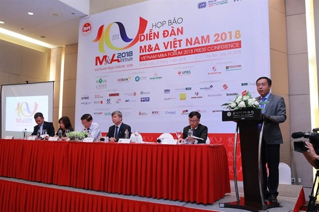 Vietnam's M&A market declines in 2018 hinh anh 1