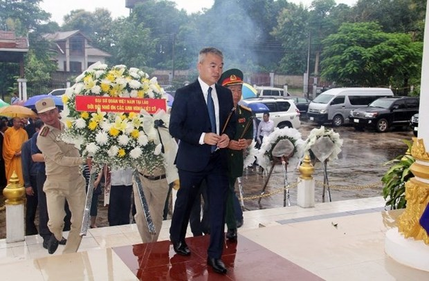 71st War Invalids and Martyrs Day marked in Laos hinh anh 1
