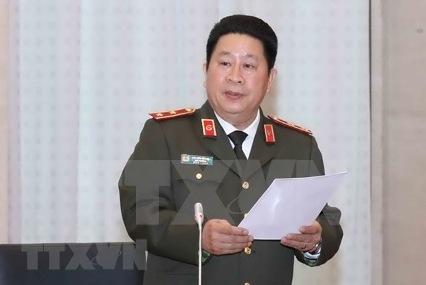 Three high-ranking military, police officials disciplined hinh anh 1