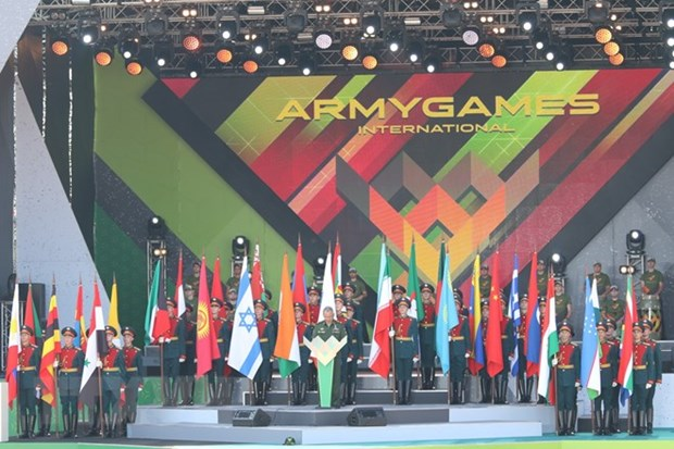 Vietnam takes part in Int'l Army Games for first time hinh anh 1