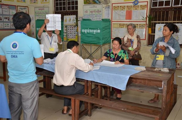 Cambodia: More than 80 percent of voters join general election hinh anh 1