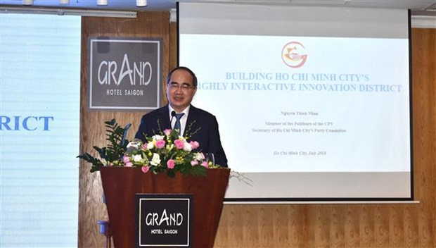 Ho Chi Minh City eyes to form innovation district hinh anh 1
