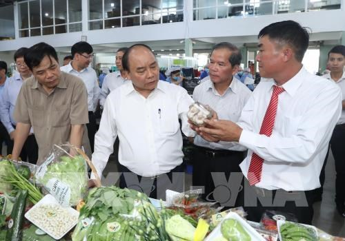 PM visits high-tech agri production model in Lam Dong hinh anh 1