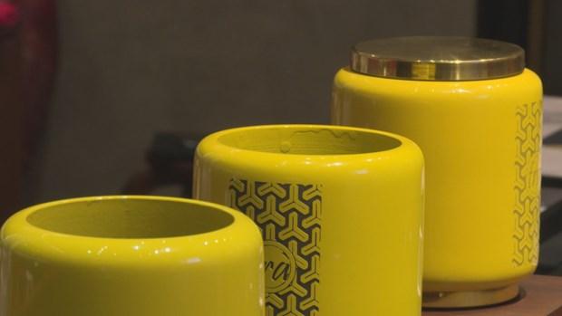 Art lovers make lacquerware in Hanoi hinh anh 1
