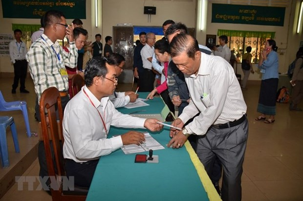 CPP wins over 4.8 mln votes in Cambodia's general election: committee hinh anh 1