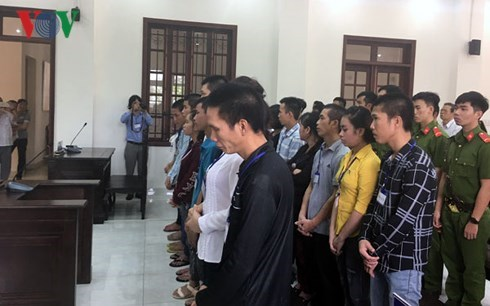 Dong Nai: 20 stand trial for social disturbance hinh anh 1