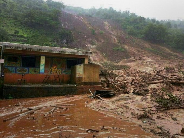 Eight killed in landslide in northern Thailand hinh anh 1