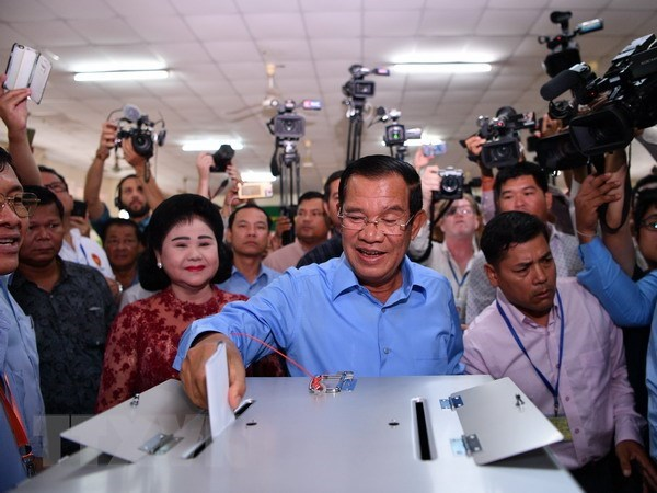 Cambodia: CPP says it wins 114 seats in new parliament hinh anh 1
