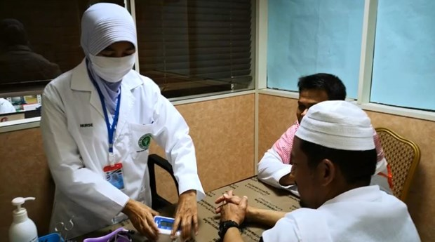 Hajj medical office provides services to Thai pilgrims in Saudi Arabia hinh anh 1