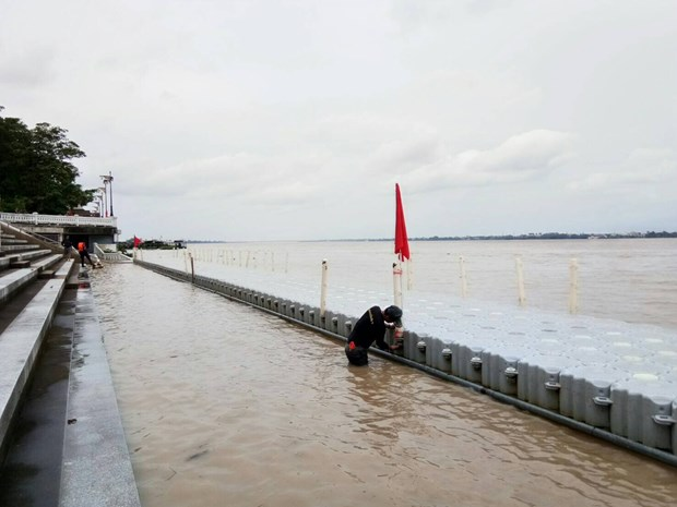 Thai authorities monitoring water level of Mekong River hinh anh 1
