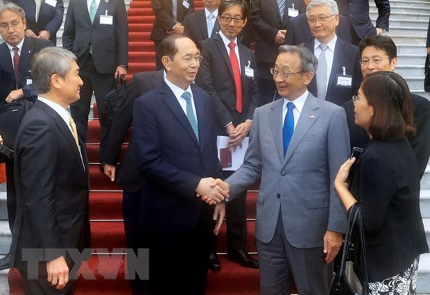 Keidanren commended for fostering Vietnam-Japan investment ties hinh anh 1