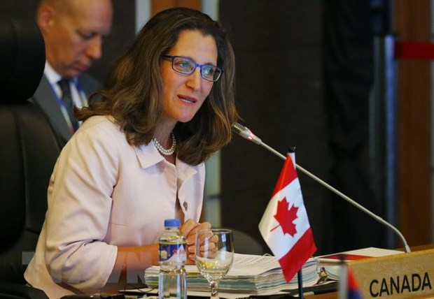 Canadian Foreign Minister affirms wish to enhance ties with ASEAN hinh anh 1
