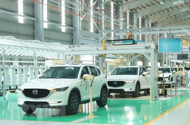 Local car production on the rise hinh anh 1