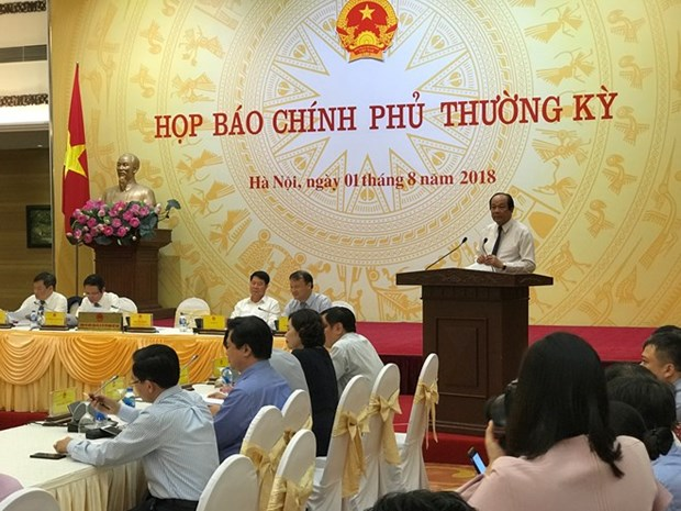 Vietnam witnesses robust socio-economic development in 7 months hinh anh 1