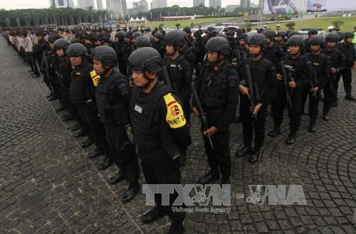 Anti-terrorism drill in Indonesia ahead of ASIAD 2018 hinh anh 1