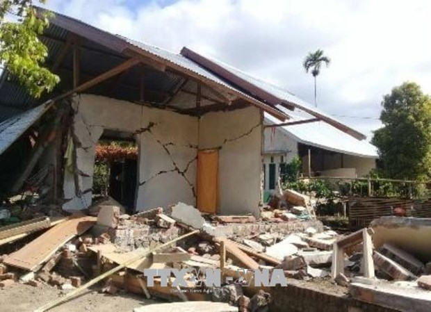 More quake hits Indonesia's Lombok island hinh anh 1