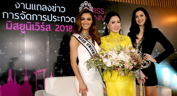 Thailand chosen to host 67th Miss Universe hinh anh 1