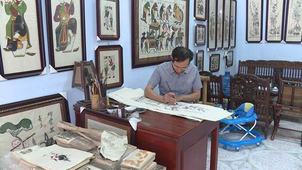 Dong Ho folk painting expected to be revitalised hinh anh 5