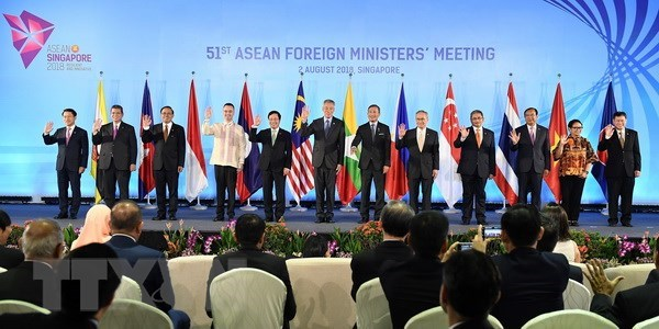 AMM 51: ASEAN to strengthen intra-bloc economic strength hinh anh 1