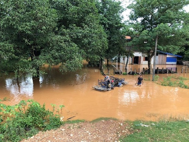 Lao Gov't approves compensation policy for dam collapse victims hinh anh 1