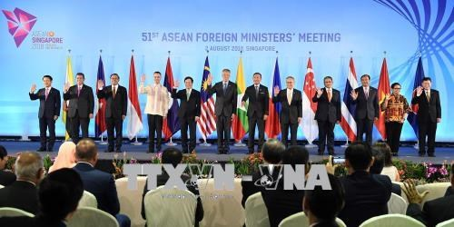 ASEAN Post-Ministerial Conferences with Partners held in Singapore hinh anh 1