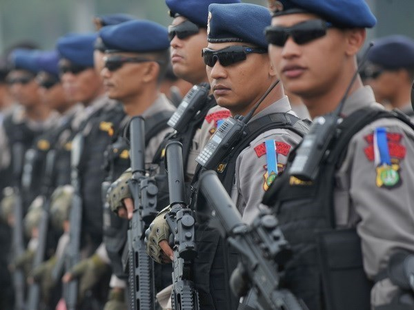 Indonesia arrests two alleged terrorists ahead of Asian Games hinh anh 1