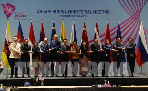 Partner countries back ASEAN central role in regional structure hinh anh 1