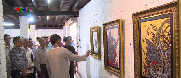 Art exhibition promotes understanding among Mekong nations hinh anh 1