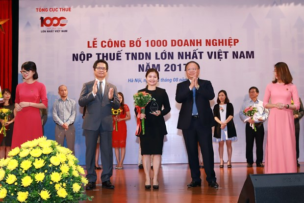 Vietnam's 1,000 biggest tax payers announced hinh anh 1