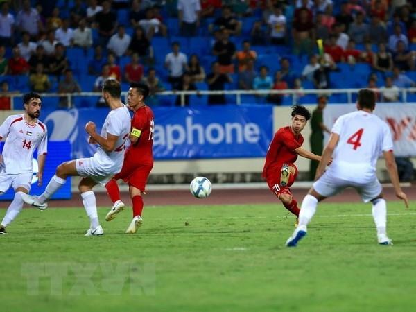 Vietnam beats Palestine 2-1 at U23 International Championship hinh anh 1