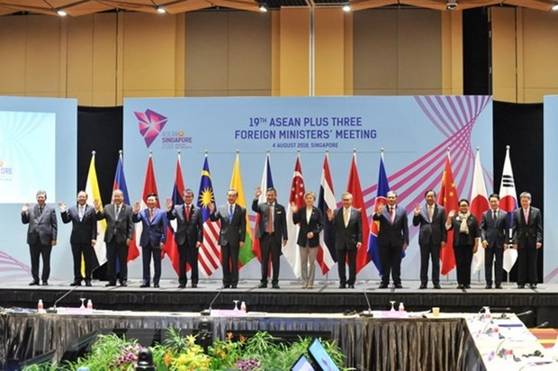 FM Pham Binh Minh attends related meetings of AMM-51 hinh anh 1