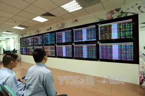 VN-Index witnesses slight recovery on week's beginning hinh anh 1