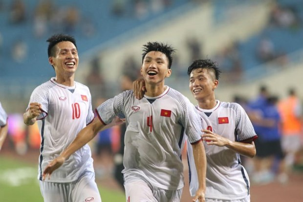 Vietnam's U23s win second consecutive victory hinh anh 1