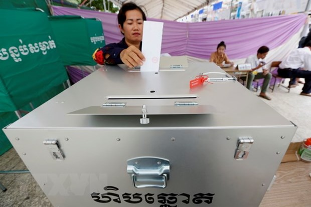 Cambodia: NEC ends verification of election results hinh anh 1