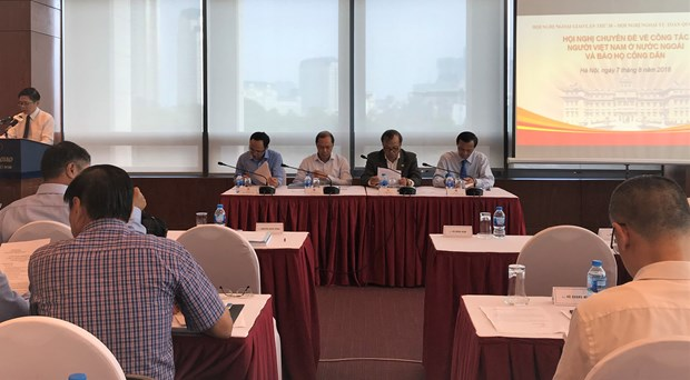 Diplomats seek to improve consular affairs, citizen protection hinh anh 1