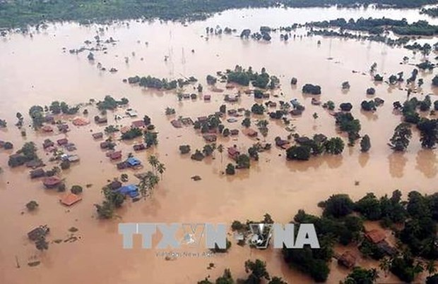 Lao dam collapse: 31 bodies found, 100 still missing hinh anh 1