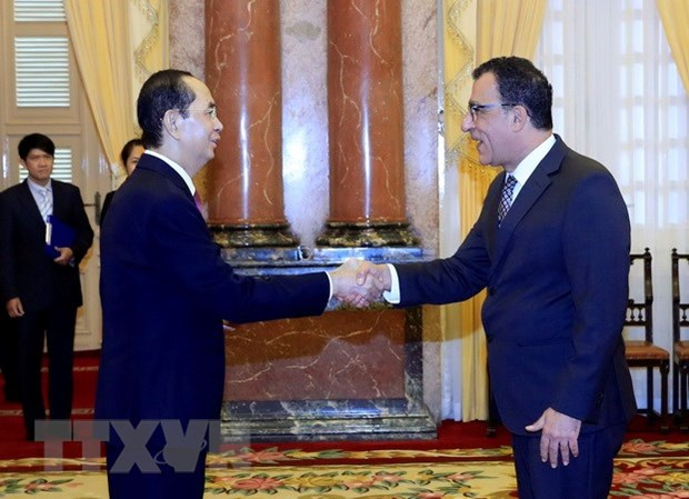 President receives new foreign ambassadors hinh anh 1