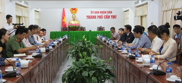 Can Tho to have more firms to export rice to China hinh anh 1