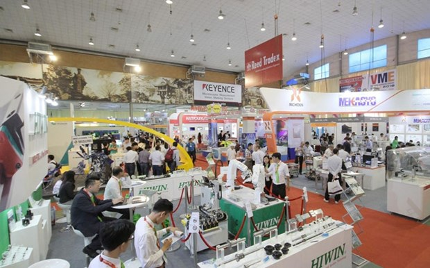Vietnam Manufacturing Expo 2018 underway in Hanoi hinh anh 1