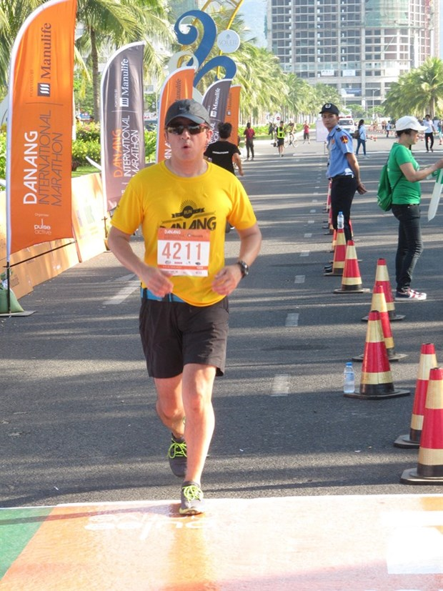 7,200 runners to race in Da Nang Marathon hinh anh 1