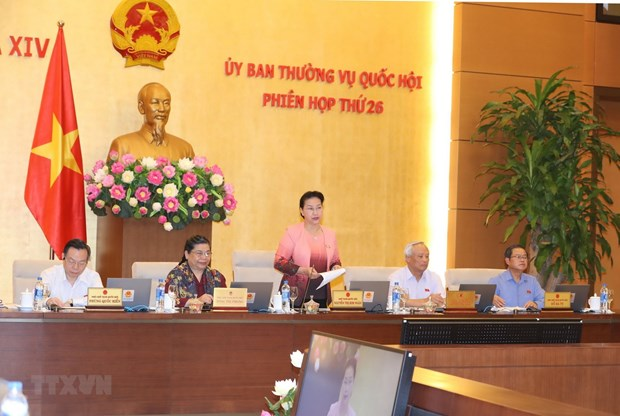 NA Standing Committee convenes 26th session hinh anh 1