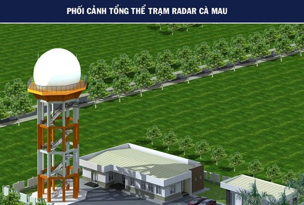 Secondary surveillance radar station to be built in Ca Mau hinh anh 1