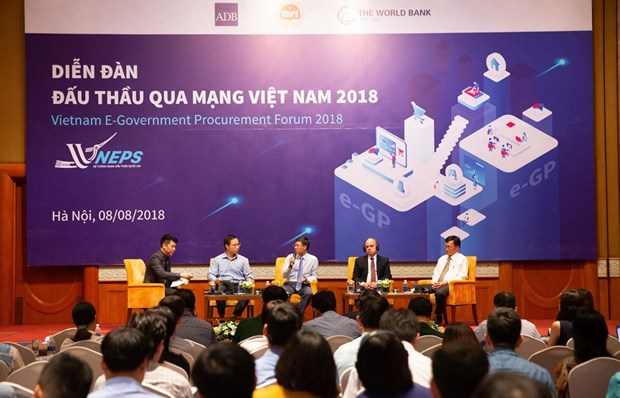First national forum on e-procurement held in Hanoi hinh anh 1