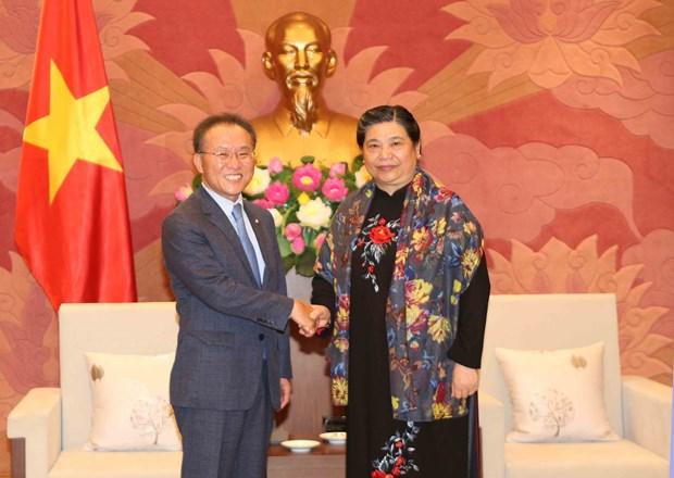 Vietnam, RoK legislatures boost cooperation hinh anh 1
