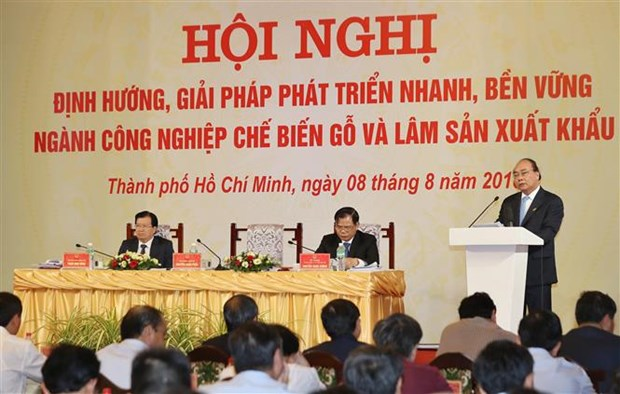 Wood processing to become spearhead in production: PM hinh anh 1