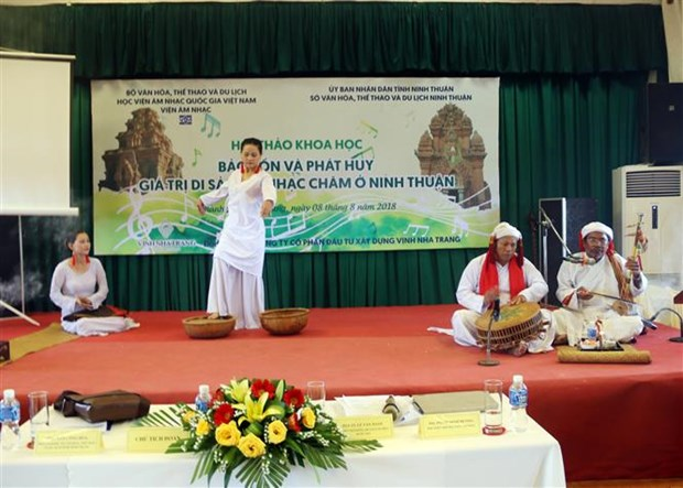 Measures sought to preserve Cham musical heritage hinh anh 1